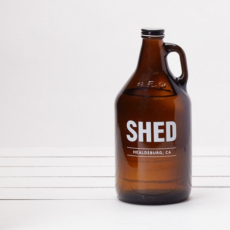 SHED Amber Growlers