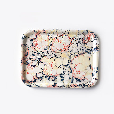 Small Rectangular Floating Floral Tray