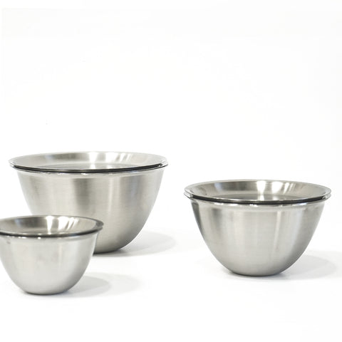 Makanai Bowls with Punch Pressed Strainer Lids