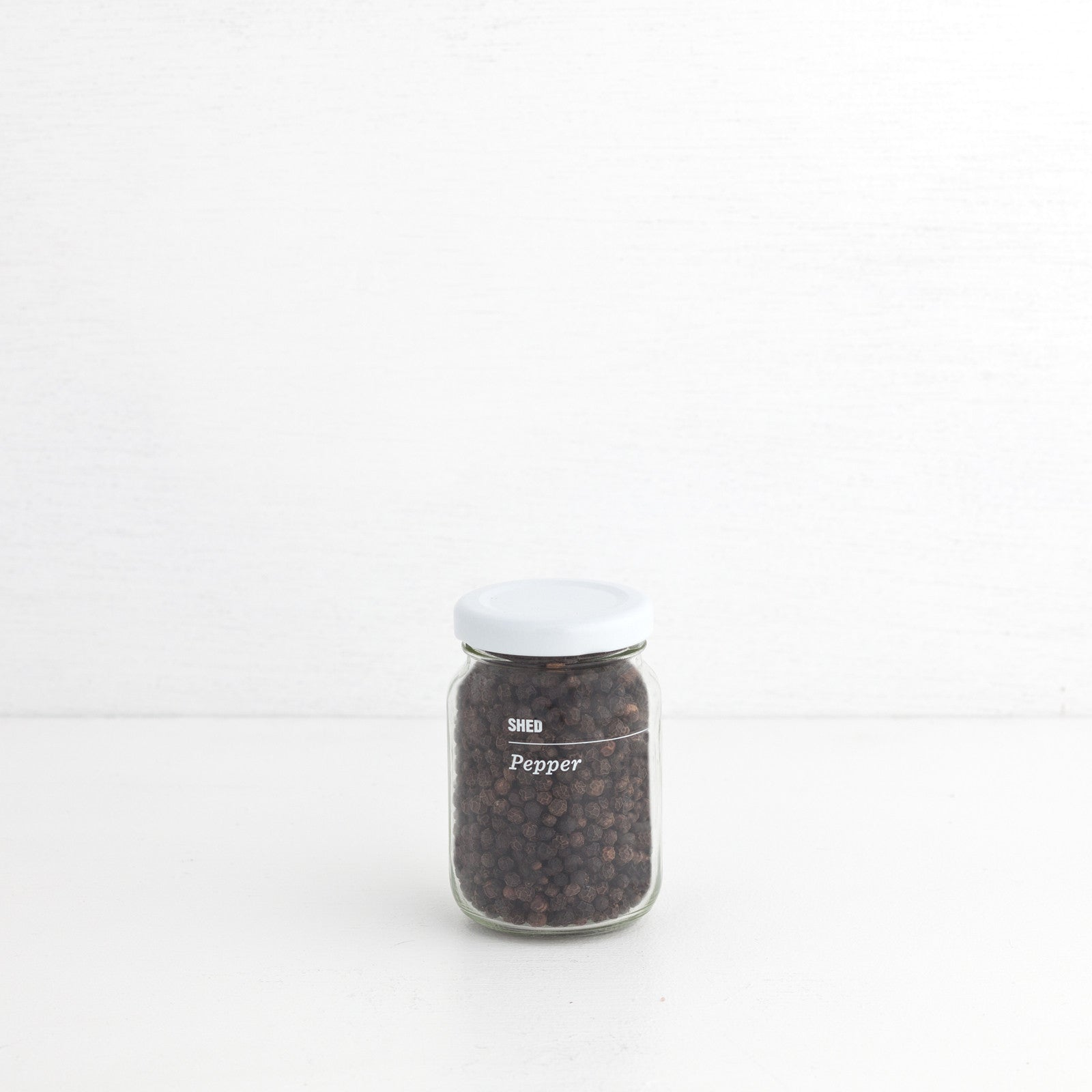 SHED Tellicherry Black Peppercorns