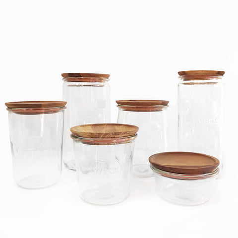 Wooden Lids for Weck Jars