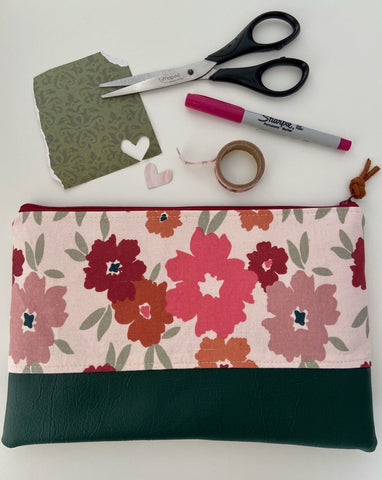 Painted Blossom Pencil Case