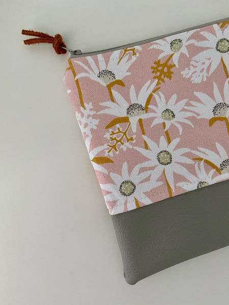 Flannel Flower Pencil Case