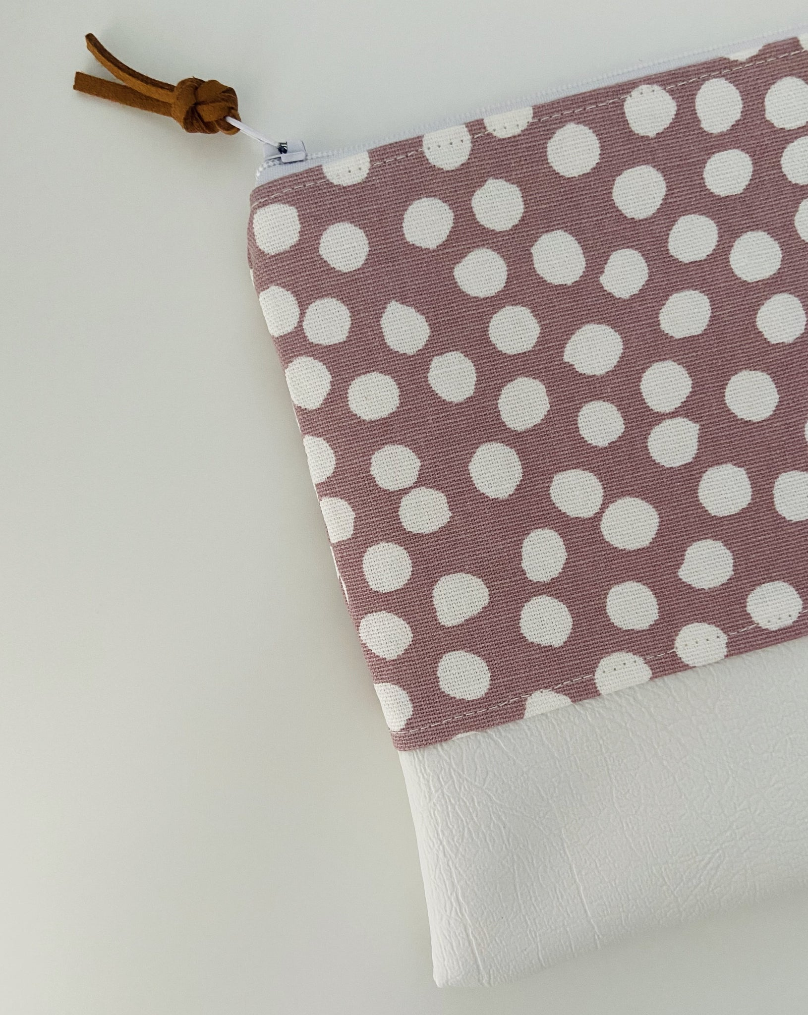 Blush Dotty Pencil Case