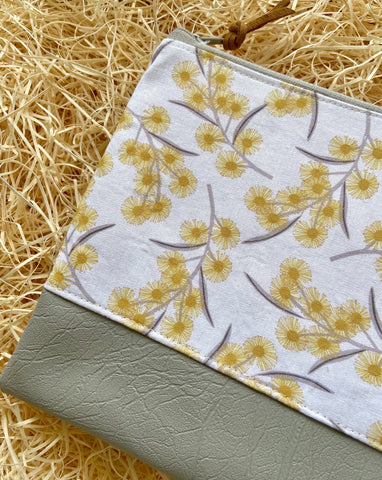 Golden Wattle Purse
