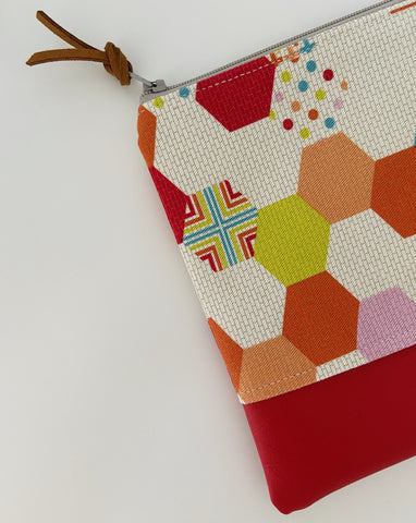 Playful Hexagon Purse