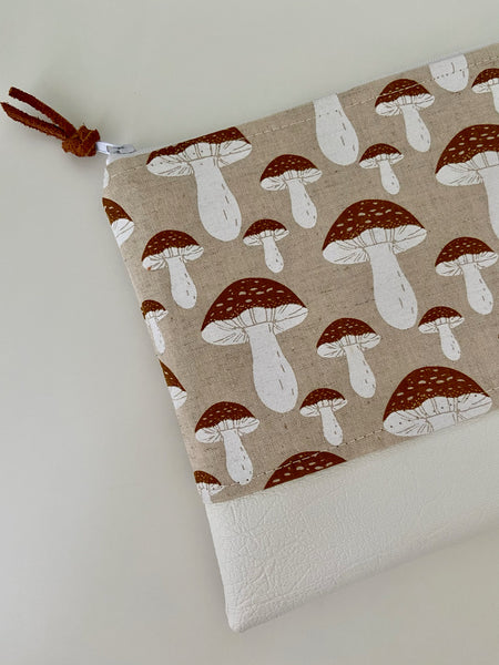 Woodland Mushrooms Purse