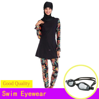 MuFull Coverage Muslim Swimwear