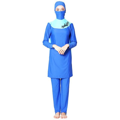 Swim Long Sleeve Hijab Swimsuit