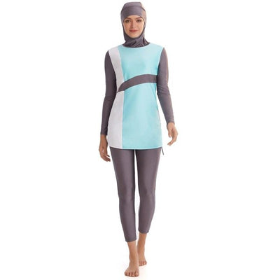 Hijab Swimsuit with cap