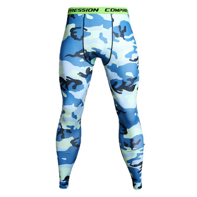Camouflage Soccer Training Fitness Sport Leggings