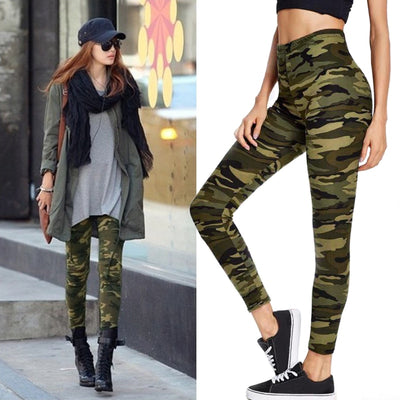 Casual Camouflage Fitness Leggings