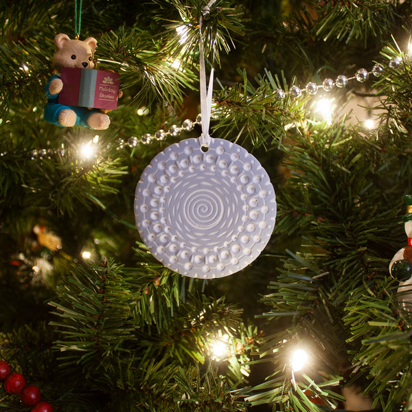 Limited Edition Blue and White Christmas Ornament