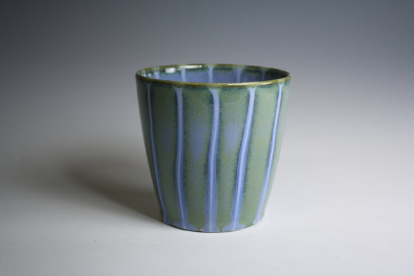 Blue and Green Drip Cup #2