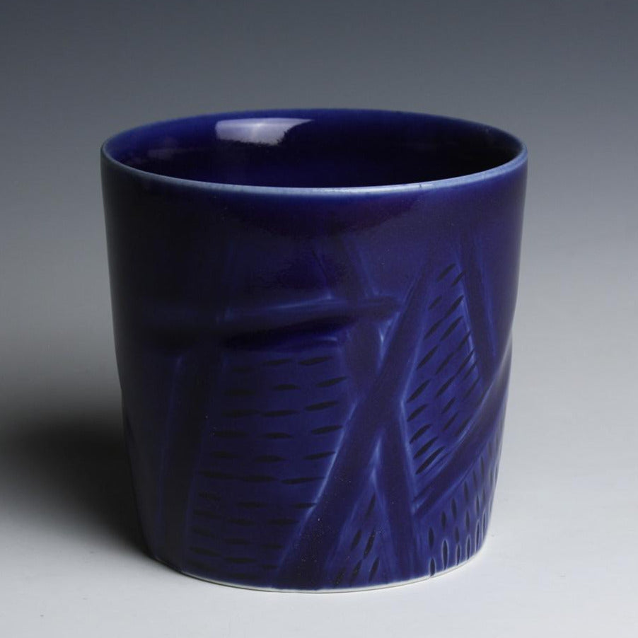 Carved Coblat Cup