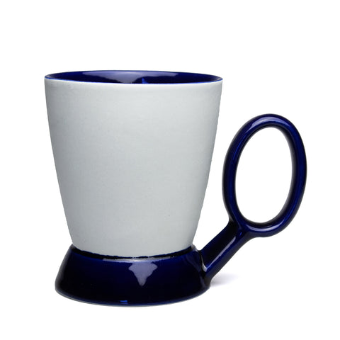 Light Blue and Cobalt Mug
