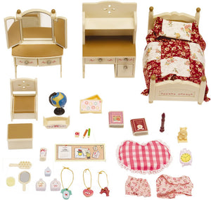 SYLVANIAN FAMILIES SISTER'S BEDROOM SET 2960 3+