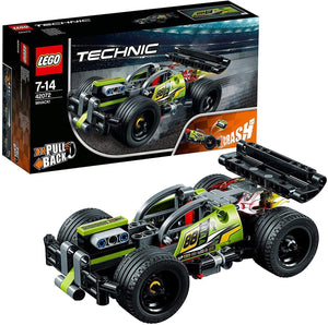 LEGO TECHNIC ROARRR MULTICOLORE ,42072