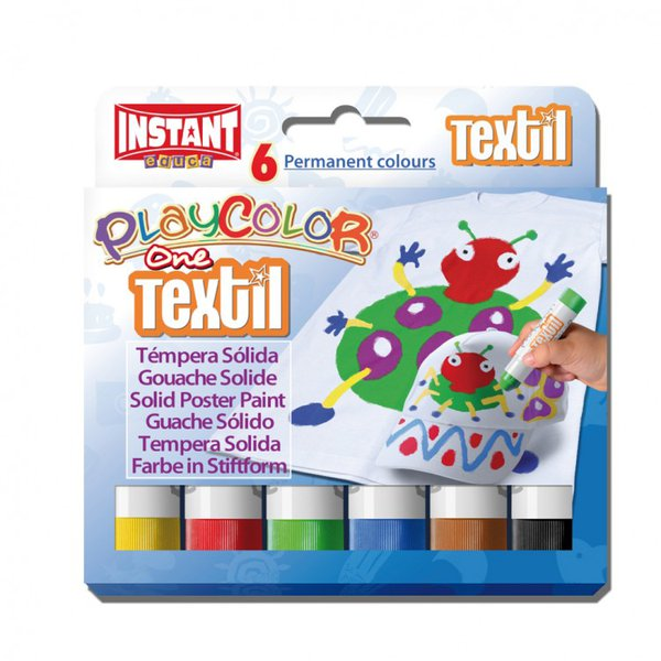 PLAYCOLOR TEXTIL TEMPERE SOLIDE PER TESSUTI