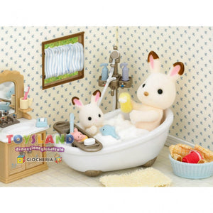 SYLVANIAN FAMILIES BATH ROOM SET 2952 3+