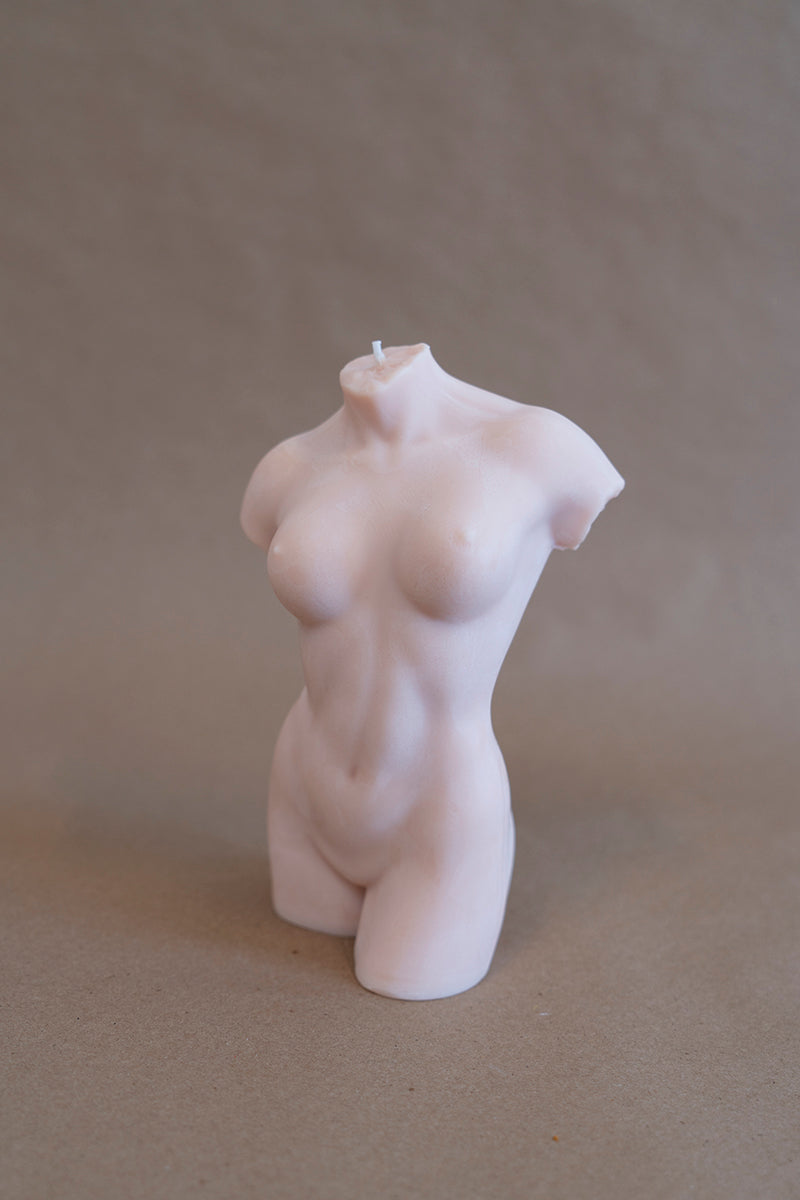 Female Figure Candle