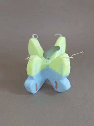 Butterfly Candle | Blue & Green