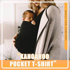 Kangaroo Pocket T-shirt Soft And Stretchy Fabric Hot Sale In Whole USA