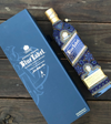 Botella decorativa huichol Johnnie Walker blue label