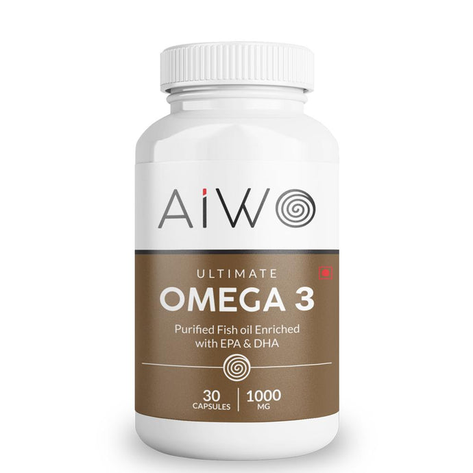 Omega-3 Fish Oil Capsules: Double Strength With EPA And DHA