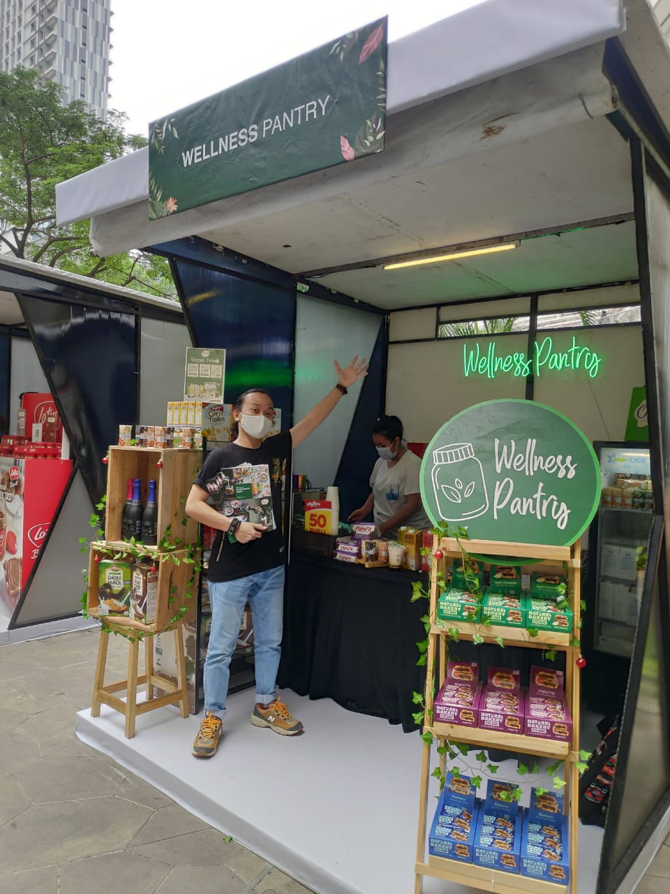 Wellness Pantry di event Woke Space x Plantopia @Central Park 10-13 Desember 2020