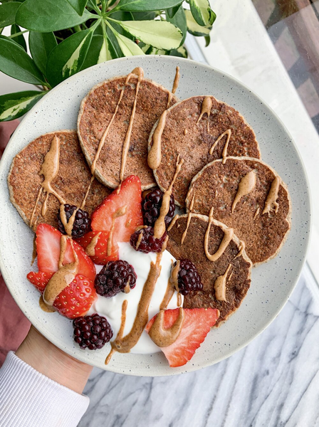 Vegan Protein Pancakes with Nuzest Clean Lean Protein