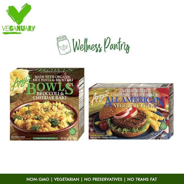 Daily Cooking Pack Veggie Burger & Broccoli - Veganuary Packages