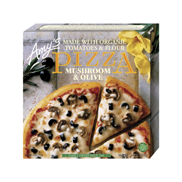 Amy's Kitchen Organic Pizza Mushroom & Olive 369g / Makanan Frozen Organik