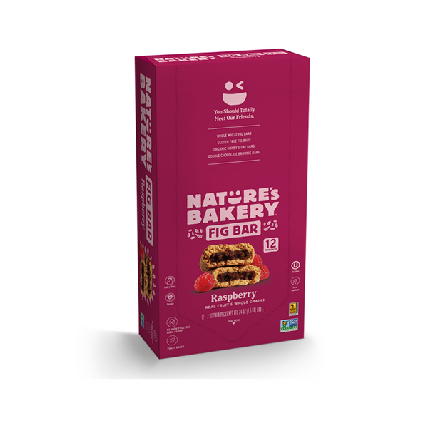 Nature's Bakery Fig Bar - Raspberry (Pack of 12)