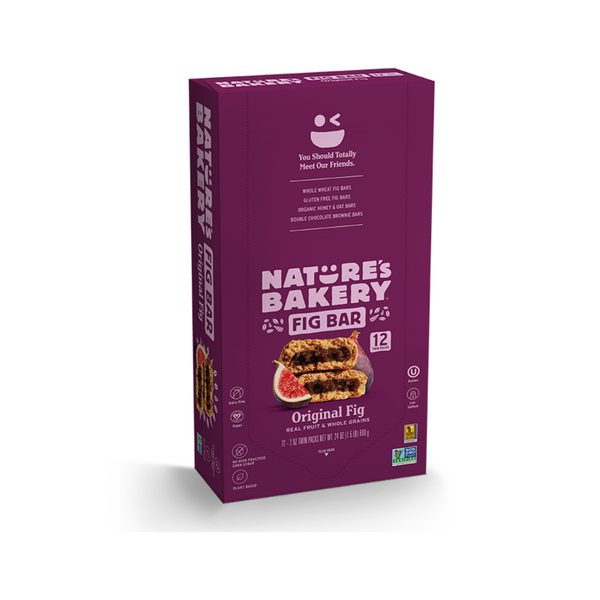 Nature's Bakery Fig Bar - Original (Pack of 12)