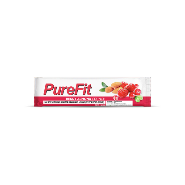 PureFit Protein Berry Almond - High Protein Premium Nutrition Bar