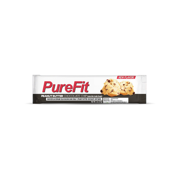 PureFit Peanut Butter Chocolate Chip - High Protein Bar