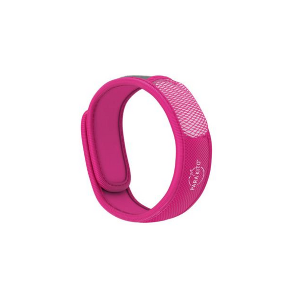 Parakito Natural Mosquito Repellent Wristband - Pink