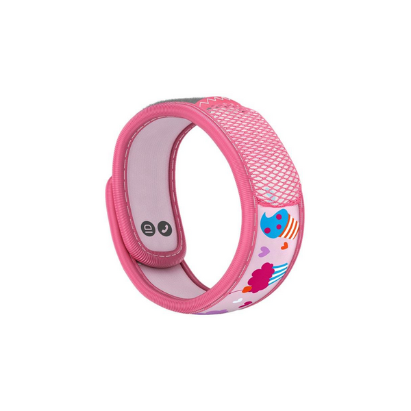 Parakito Mosquito Repellent Wristband for Kids - Cupcake