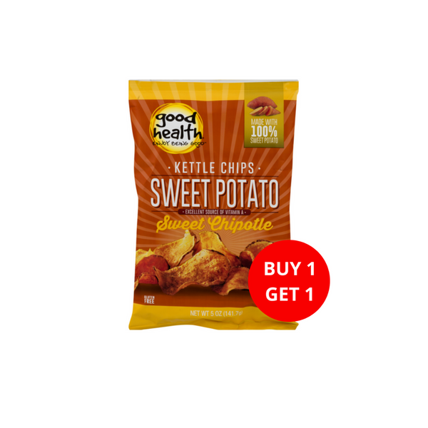 Buy 1 Get 1 Good Health Kettle Style Chips Sweet Chipotle