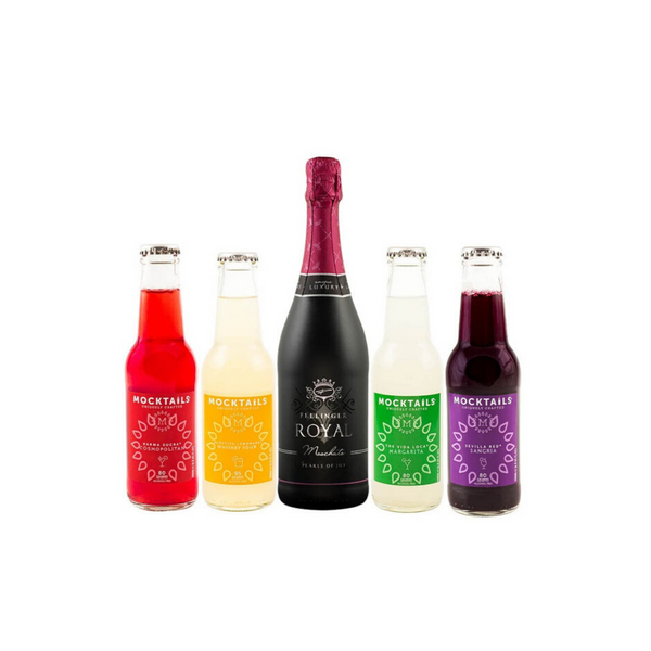 Party Drink Bundle / Mocktails & Royal Fellinger Champagne
