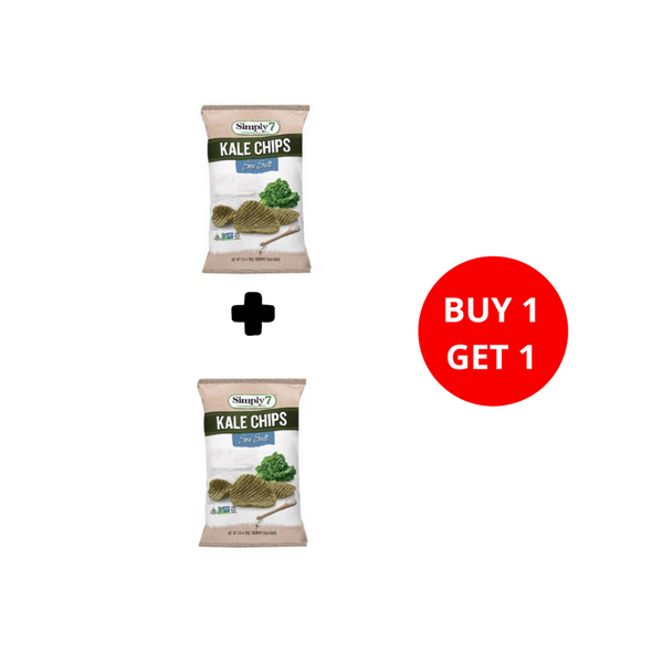 Buy 1 Get 1 Simply7 - Kale Chips Sea Salt ( 99 gr )