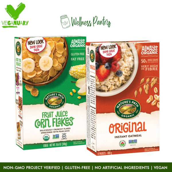Daily Breakfast Pack Instant Fruit Veganuary Packages