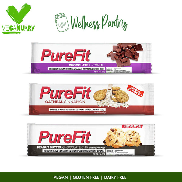 Daily Veggie Snacks Bars - Veganuary Package
