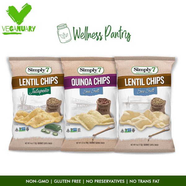 Daily Veggie Snacks Sea Salt Jalapeno - Veganuary Package