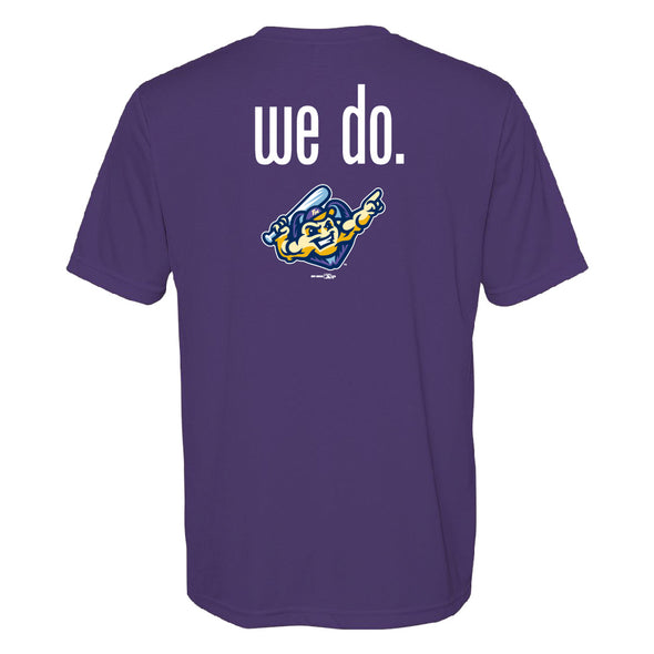 Youth Got Mussels T-Shirt, Purple