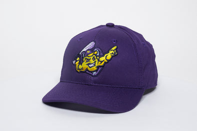Youth Adjustable Hat, Purple