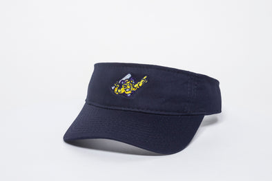 Mighty Mussels Visor Hat, Navy