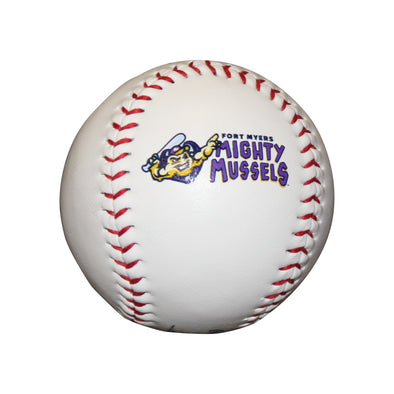 Mighty Mussels Team Logo Baseball