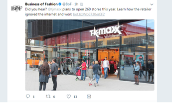 A sign of the times: How ONLY off-price retailers can flourish / survive in 'the times of fast fashion'